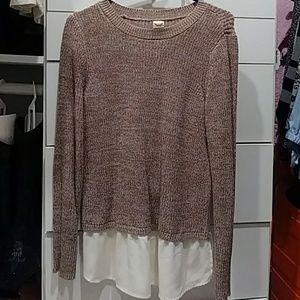 Light brown sweater